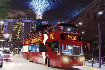 Singapore Big Bus Hop-on Hop-off Tour