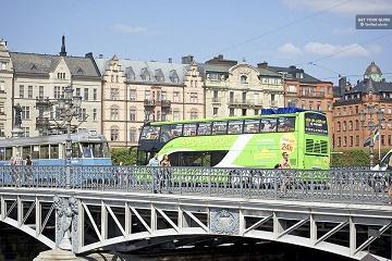 Stockholm: Red Sightseeing Hop-On-Hop-Off Bus