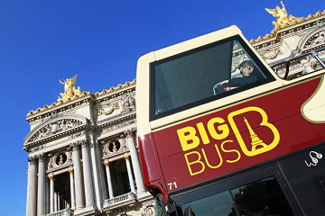 Big Bus Hop On Hop Off + Eiffel Tower + Cruise