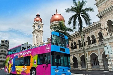 Kuala Lumpur Hop On Hop Off Bus Pass