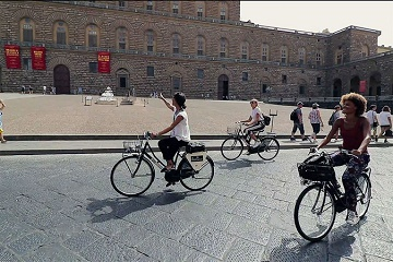 Florence Super Saver: City Bike Tour plus Skip-the-Line Accademia Gallery Tour Tickets