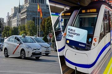 Madrid Public Transport Travel Card
