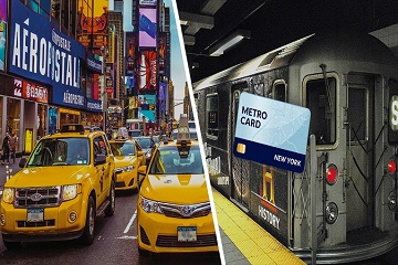 New York Public Transport Travel Card