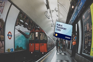 London Public Transport Travel Card