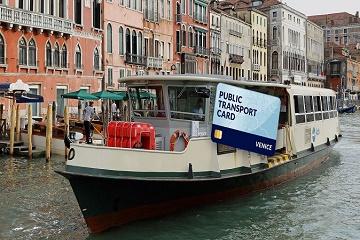 Venice Public Transport Travel Card