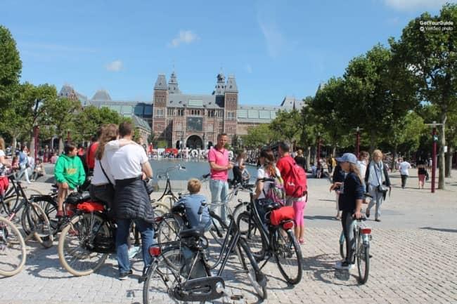 Amsterdam Historical Bike Tour Tickets