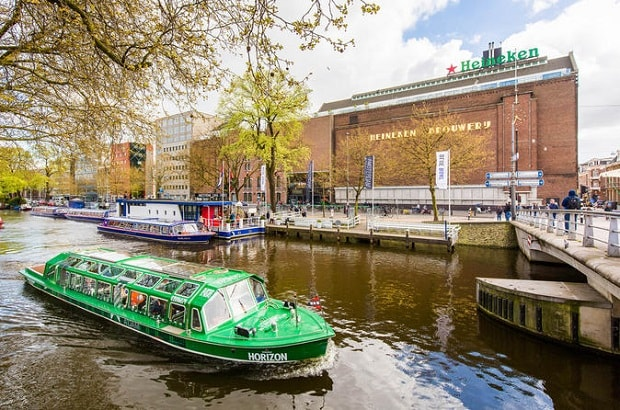 Heineken Experience and Canal Cruise Tour Amsterdam