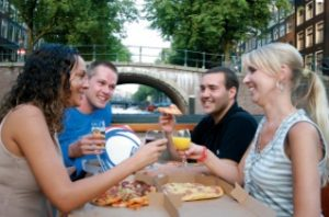 Amsterdam Pizza Cruise Tour Tickets