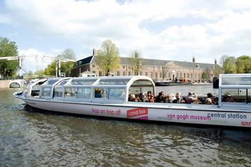Best Hop-on Hop–off Boat Tour Amsterdam Tickets