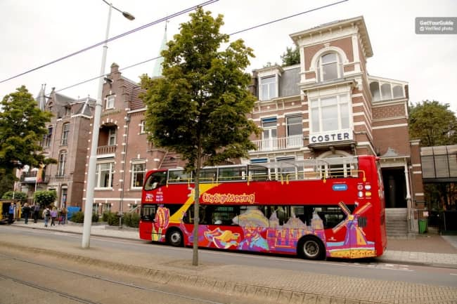 Hop-on Hop-off Bus Tour Amsterdam Tickets