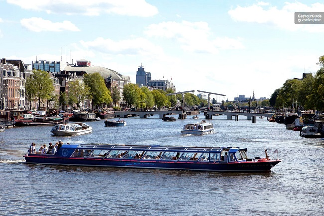 Amsterdam City Canal Cruise Daytime Tickets