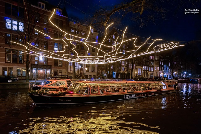 Amsterdam Light Festival Canal Cruise Tickets