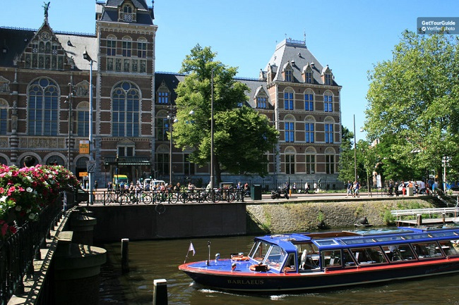 Rijksmuseum and Canal Cruise Combi Ticket Tickets