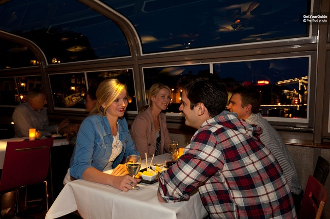 Romantic Wine and Cheese Candlelight Cruise Amsterdam Tickets
