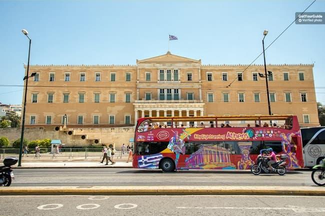 Athens City Sightseeing Bus Tour With Piraeus Option Tickets