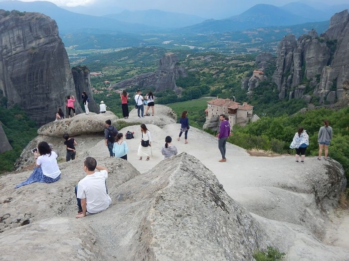 Meteora Day Trip from Athens by Train Tickets