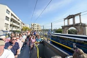 Best Sights Of Athens Hop On Hop Off Sightseeing Blue Bus Piraeus and Beaches