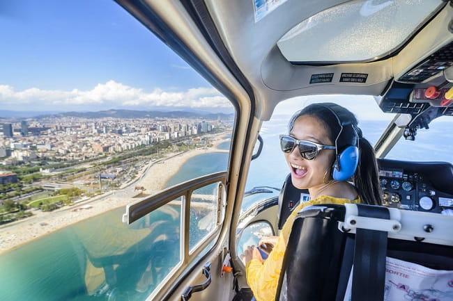 Barcelona 360 SkyWalk Tour: Land, Sea & Air Tickets