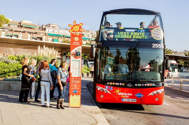 Barcelona Hop-on Hop-off Tour: 1 or 2- Day Ticket Tickets