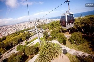 Montjuic Cable Car Ticket Tickets