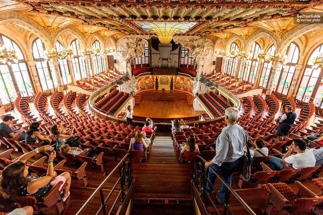 Palau de la Música catalana Tour Tickets