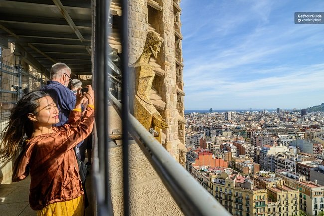 Sagrada Familia With Tower VIP Access Tour Tickets
