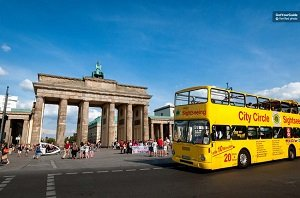 Berlin City Circle Hop-on Hop-off Sightseeing Tour Yellow Bus Tickets