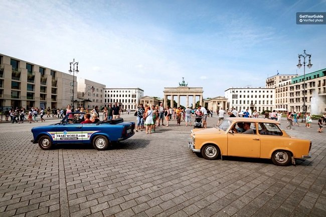 Berlin Self-Drive Trabi Safari City Tour Tickets