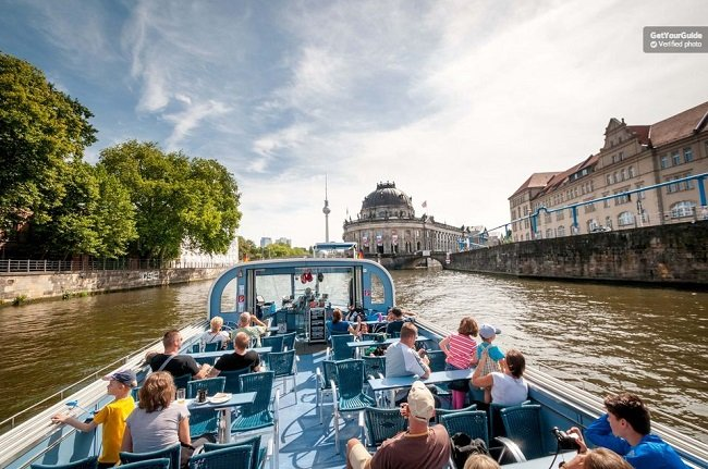 City River Cruise in Berlin Tickets