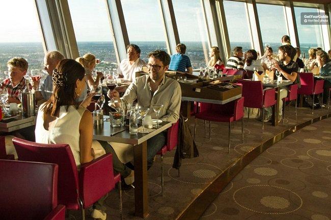 Skip-the-Line: Berlin TV Tower Dinner Tickets