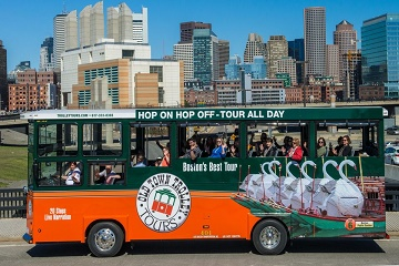 Boston Hop-on Hop-off Trolley 1-Day Ticket