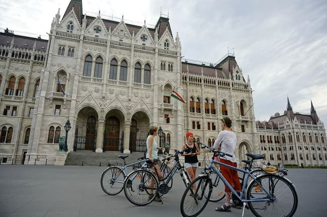 Budapest Highlights Bike Tour Tickets
