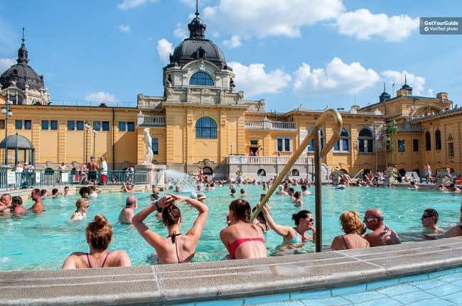 Szechenyi Spa Full-day Skip the Line Pass Tickets