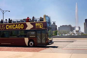 Chicago: 1-Day Hop-on Hop-off Bus Tour and Skydeck Ticket