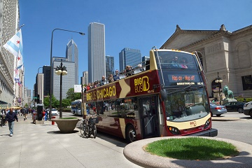 Chicago: 2-Day Hop-on Hop-off Bus Tour & Architecture Cruise