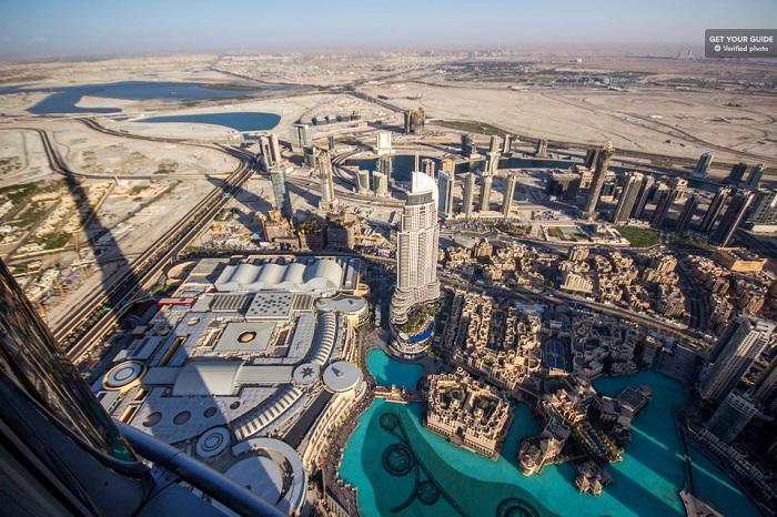 Burj Khalifa 124 and 125 Tickets Tickets