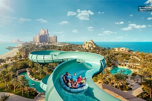 Dubai Aquaventure Waterpark Admission Ticket Tickets