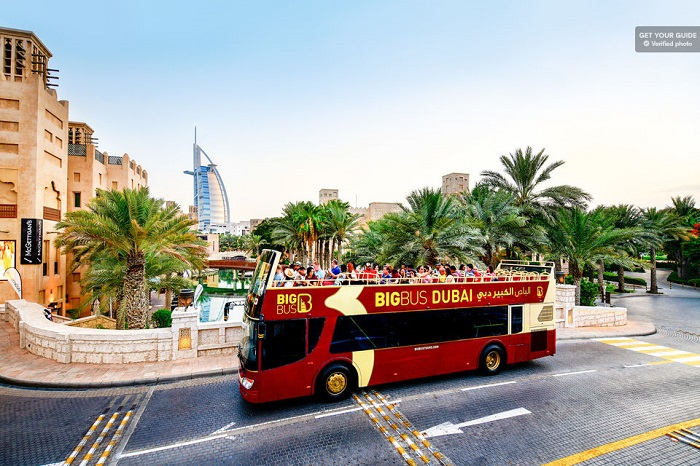 Big Bus Dubai Bus Tour Tickets