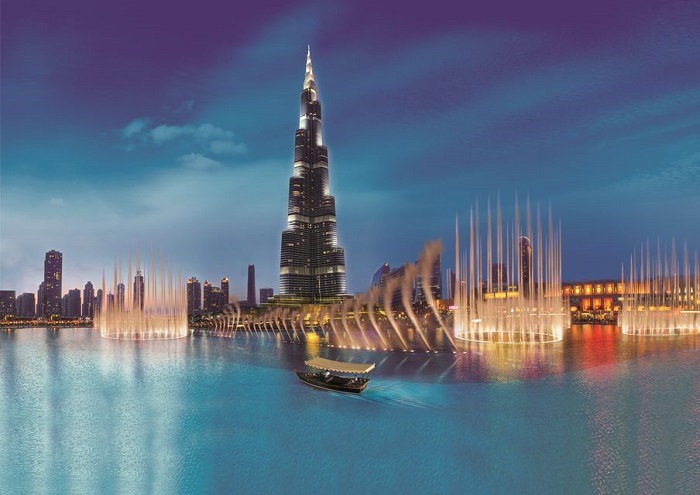 Dubai Fountain Show and Boat Ride Tickets