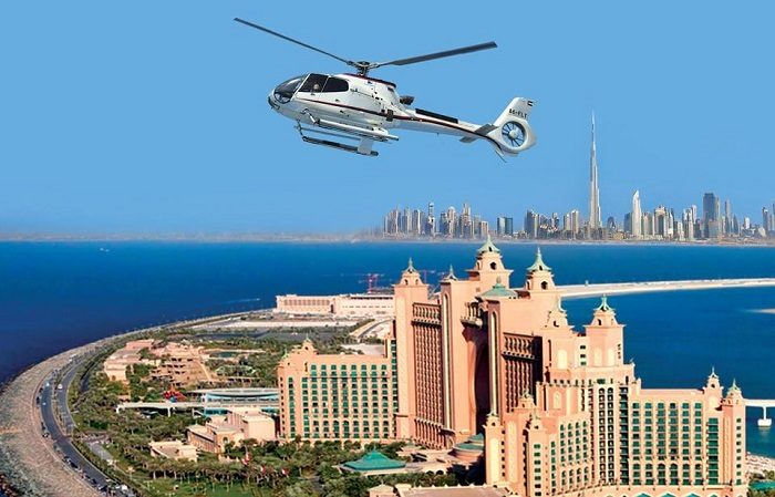 Dubai Helicopter Tour: The Palm to The Burj Khalifa Tickets