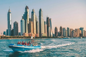 Dubai Marina Speedboat Tour Tickets
