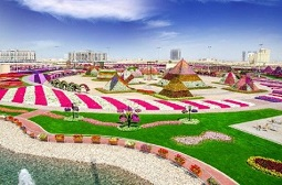 Miracle Garden and Global Village Shopping Tour Dubai Tickets