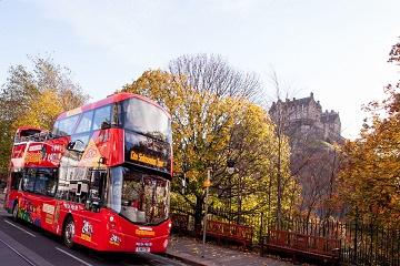 Edinburgh Hop-On Hop-Off Bus Tours
