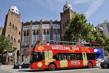 F.C. Barcelona & Hop-On Hop-Off Bus Tour Tickets