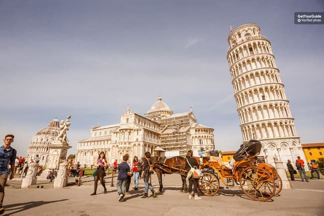 Pisa Half-Day Trip with Leaning Tower Skip-the-Line Entry Tickets