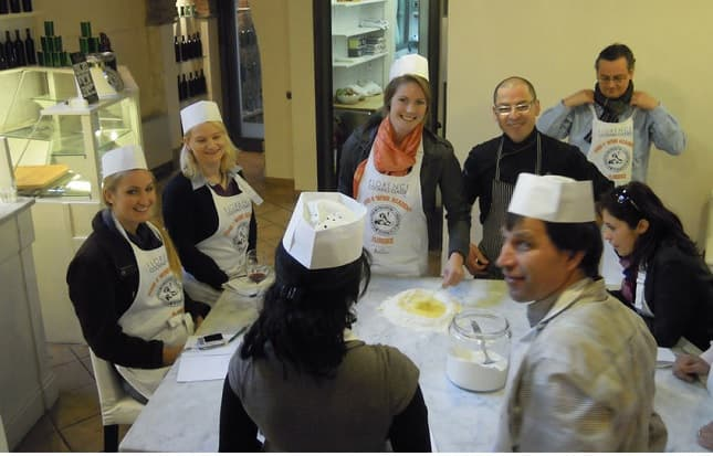 Small Group Cooking Class with Florence Market Tour Tickets
