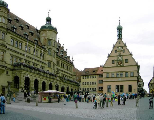 Frankfurt to Rothenburg Day Trip Tickets