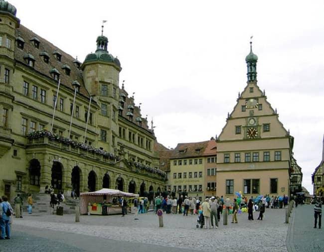 Frankfurt to Rothenburg Day Trip Tickets
