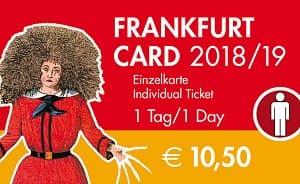 Frankfurt Card: City Sightseeing Pass Tickets