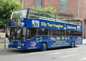 Frankfurt Blue Bus Hop On Hop Off City Tour Tickets
